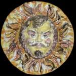 Medaglione sole 01 - Davide Iovino